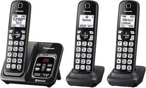 PANASONIC Expandable Cordless Phone KX-TGD562M